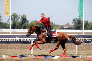 Заточенная шашка и быстрый конь - главное подспорье настоящего казака.