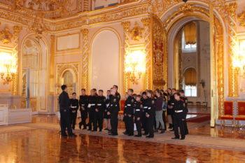 Побывали в Кремле