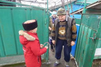 встреча с конюхом Мелещенко Н.Ф.