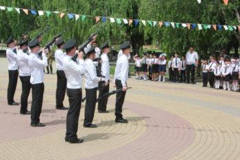Выступление роты почетного караула
