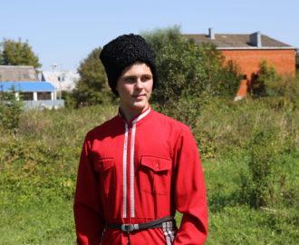 Атаман школы № 13 Аркадий Вирабян