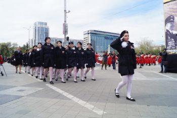 Семигорцы на параде в Краснодаре (1)