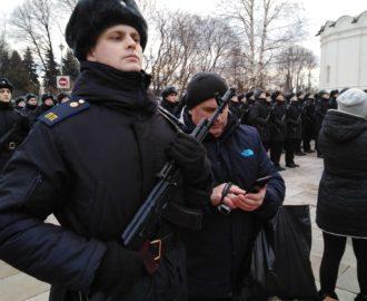 Юрий Скляров на торжественной церемонии принятия присяги в Москве