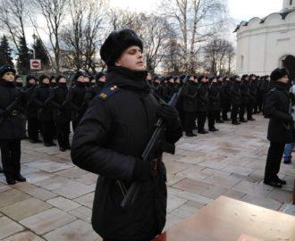 Юрий Скляров на церемонии принятия присяги в Москве